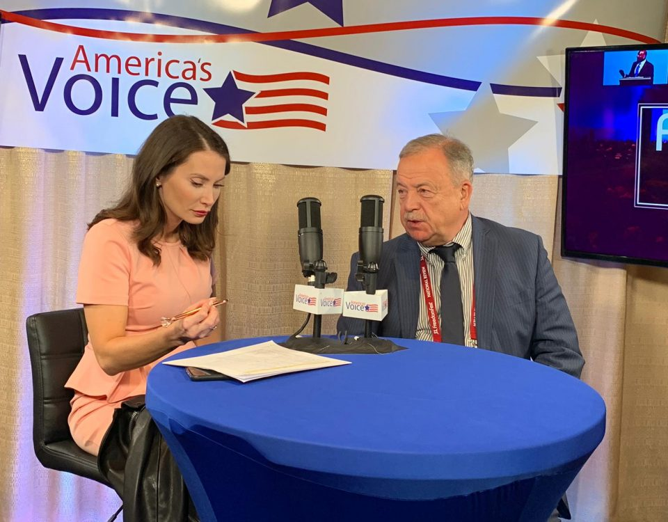 Dr. I. Runov interview with America's Voice